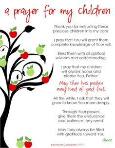 quotes god and children quotes quotes for childrens rooms prayer ...