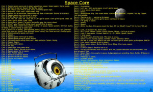 Space core quotes: Cores Quotes