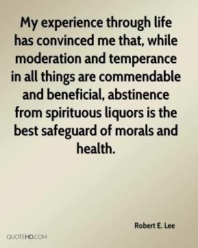 Temperance Quotes