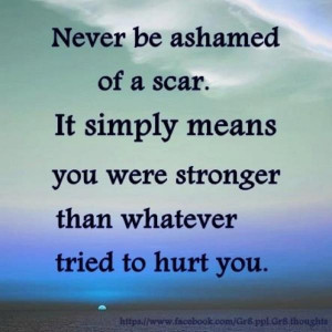 Cancer quotes, deep, meaning, sayings, scar