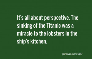 Quotes About Titanic Sinking