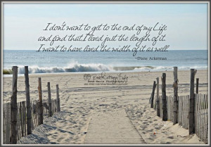 ... / Beach Cottage Life Inspirational Quote Coastal Living at its best