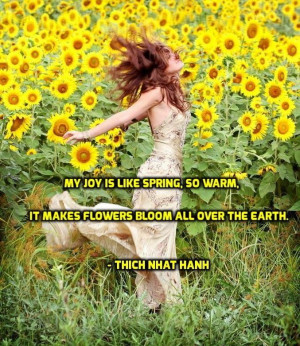 Thich Nhat Hanh Quote.