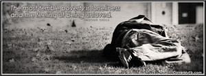 The Most Terrible Poverty Facebook Cover