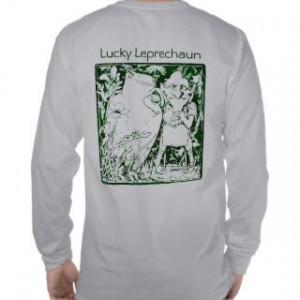 Funny Leprechaun Sayings Shirts...