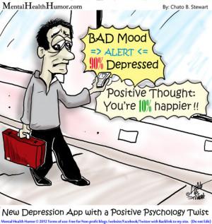 Depressed Peer's Smart Phone Alert: BAD MOOD Alert – 90% Depressed ...