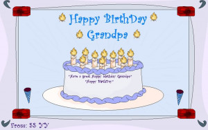 Happy Birthday in Heaven Grandpa Quotes