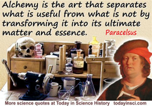 Science Quotes by Philippus Aureolus Paracelsus (10 quotes)