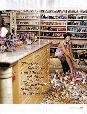 Kimora Lee Simmons on shoes...quote