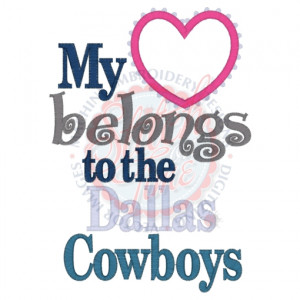 dallas cowboys sayings and quotes
