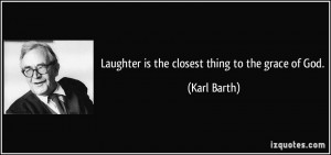 More Karl Barth Quotes