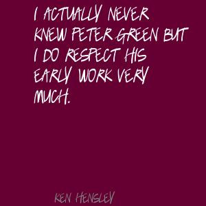 Ken Hensley's quote #5