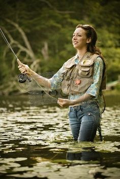 Fly Fishing Babes | Fly Fishing women do it too. | flyfishing More