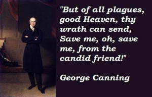 George canning famous quotes 3