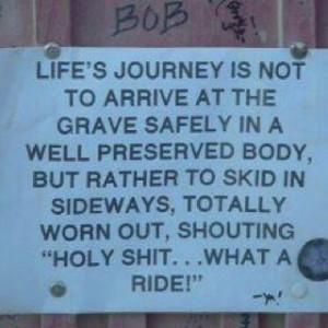 Climb on life's journey