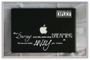 Details About 2Pac Tupac Pac Dreams Quote Laptop Car Wall Vinyl Decal