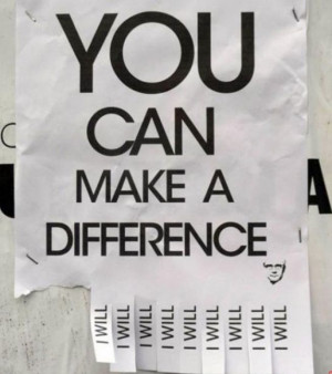 You can make a difference quotes pictures 1