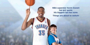 Presser: Kevin Durant and the 'Thunderstruck' Cast Talk Great ...