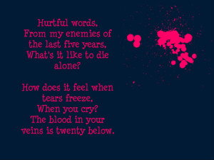 Escape The Fate Lyrics Not Good Enough For Truth In Cliche Picture