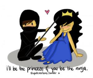 Cartoon Cute Ninja