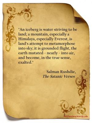 Salman #Rushdie - The #Satanic #Verses