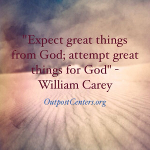 God Is Great Quotes Expect great things from god