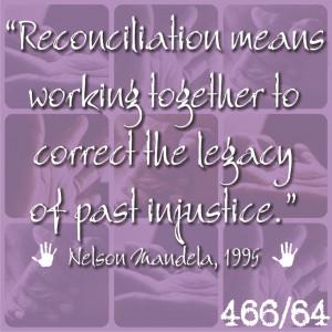 Reconciliation #Madiba