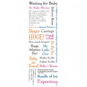 Welcome Baby Messages - Waiting For Baby