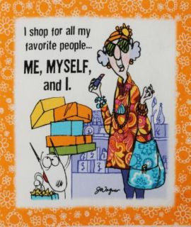 Funny Diva Shopaholic Dog 6 5 Quilt Block Square 4
