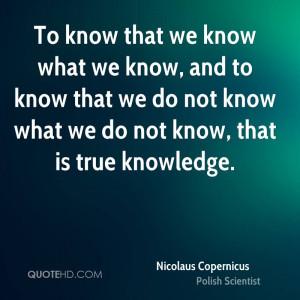 nicolaus copernicus famous quotes