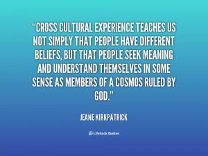 Cross Cultural Quotes