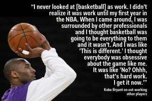 Kobe Bryant explains when he first realized he was different from ...