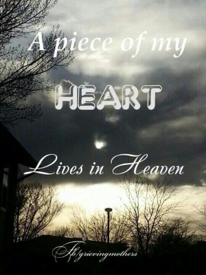 piece of my heart lives in heaven