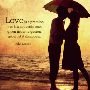 Best Famous Love Promise quotes and Sayings