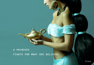 Motivational Quote : A princess fights for what she Believes.