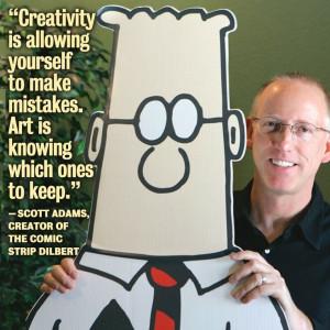 Illustration/Comics - Scott Adams - Dilbert's creator