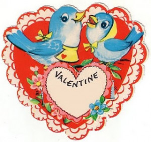 Kids vintage Valentine's Day cards