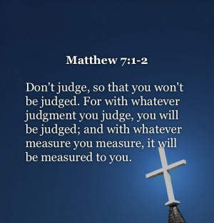 Christian Quotes About Judging People. QuotesGram