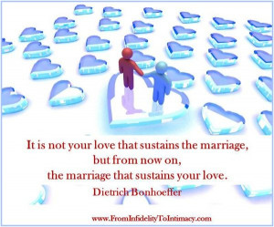 Christian marriage relationship quotes: a covenant marriage has hope.
