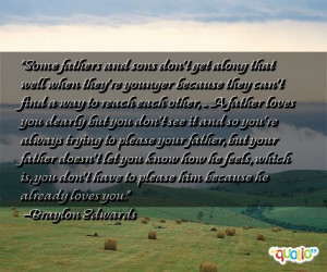 quotes quotes son famous dad picture father famous quotes about
