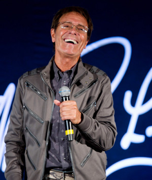Sir Cliff Richard attends a press conference to announce details of ...