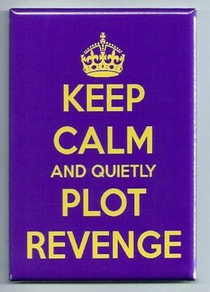 Keep Calm And Quietly Plot Revenge