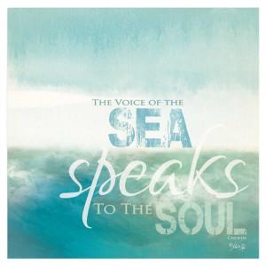 ocean, beach, sea inspiration quote x