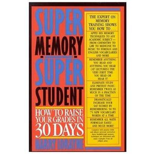 Details about Super Memory S uper Student Lorayne Harry