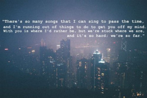 city, love, night, quote, sad, tyopgraphy