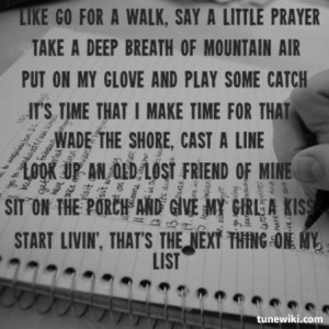 One of my all-time favorite songs!! Toby Keith ~ My List