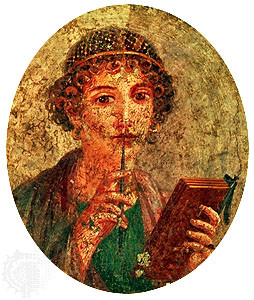Sappho, Photograph, from Encyclopædia Britannica Online, accessed ...