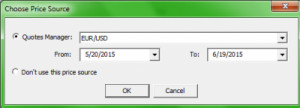 ... the file with prices or use data from the quotes manager server