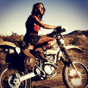 dirt bike riding...looks like someone i know:)