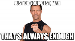 Though he's often kind of goofy, Tony Horton said something during ...